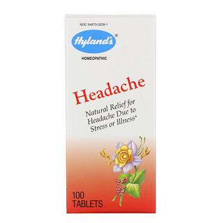 Hyland's, 頭疼,100片