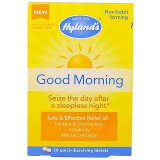 Hyland's, Good Morning, 50 Quick-Dissolving Tablets