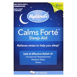 Hyland's, Calms Forté, Sleep Aid, 50 Tablets