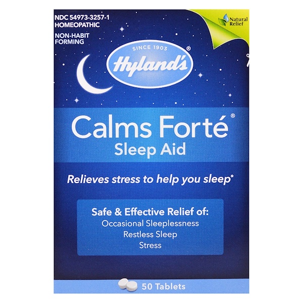 Hyland's, Calms Forté, Sleep Aid, 50 Tablets (Discontinued Item)