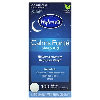 Hyland's, Calms Forte, Sleep Aid, 100 Tablets