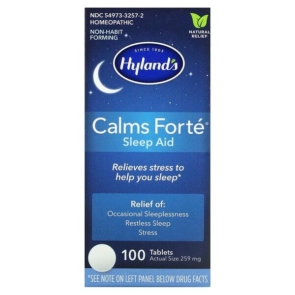 Calms Forté, Sleep Aid, 100 Tablets