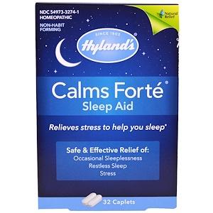 Хайлэндс, Calms Forte, Sleep Aid, 32 Caplets отзывы