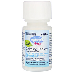 Хайлэндс, Baby, Calming Tablets, Ages 6 Months+,  125 Quick-Dissolving Tablets отзывы