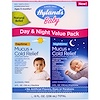 Hyland's, 鼻水 + 風邪緩和、昼夜バリューパック、生後6カ月以上、4液量オンス(118 ml)