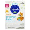 Hyland's, 赤ちゃん用、日中用オーラルペインリリーフ、すばやく溶けるタブレット125粒
