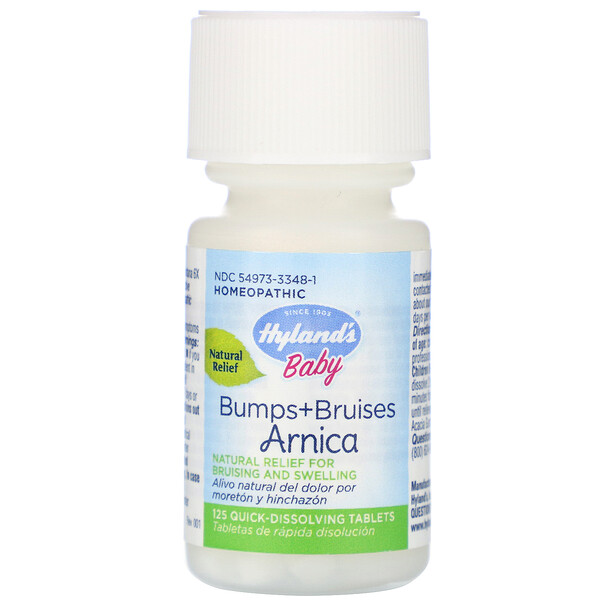 Baby, Bumps + Bruises with Arnica, 125 Quick-Dissolving Tablets