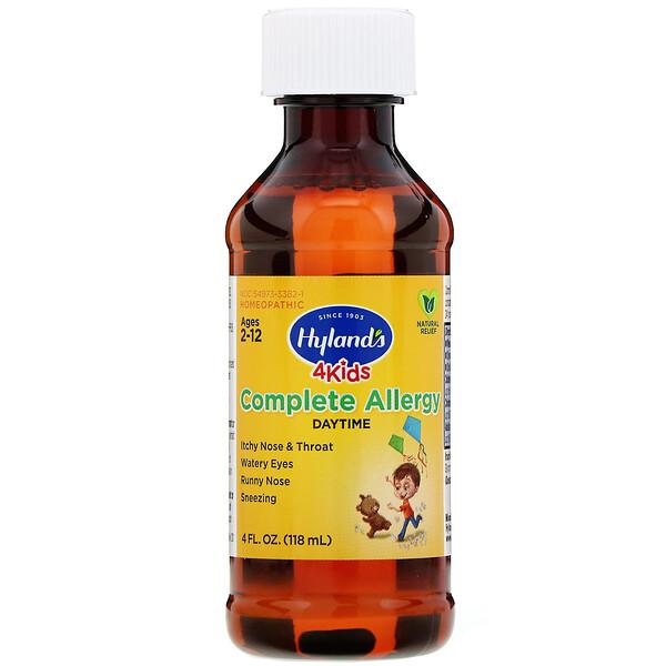 Hyland's, Средство от аллергии для детей, для приема днем, 118мл (4жидк.унции)
