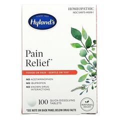 Hyland's, 止痛劑,100 片即溶片