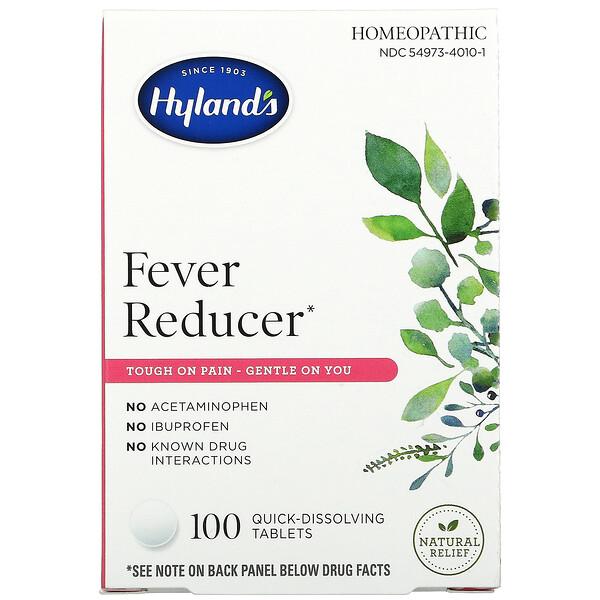 Hyland's, Fever Reducer, 100 Quick-Dissolving Tablets