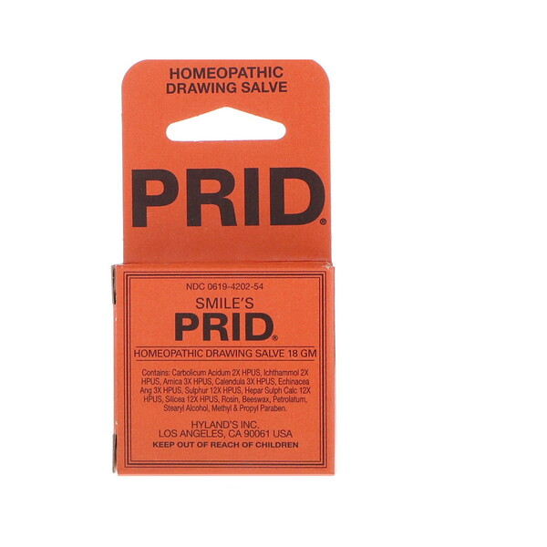 Smile's Prid Homeopathic Drawing Salve, 18 g