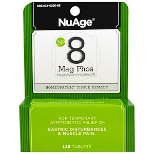 Хайлэндс, NuAge, No 8 Mag Phos, Magnesium Phosphate, 125 Tablets отзывы покупателей