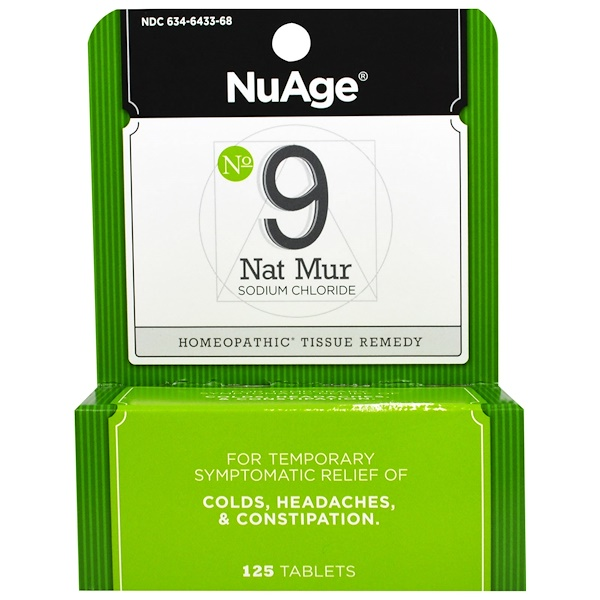 NuAge, No 9 Nat Mur, 125 Tablets