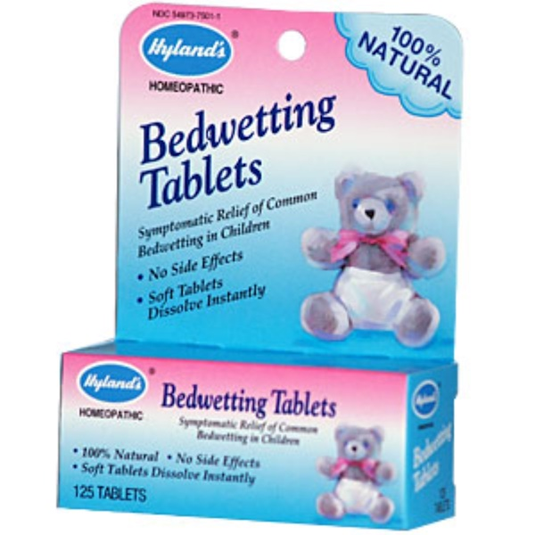 Hyland's, Bedwetting Tablets, 125 Tablets (Discontinued Item)