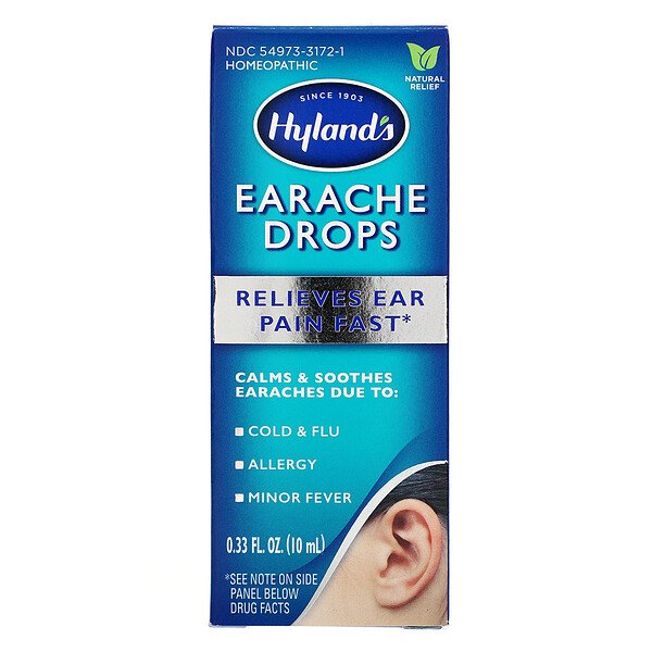 Hyland's, Earache Drops, 0.33 fl oz (10 ml)