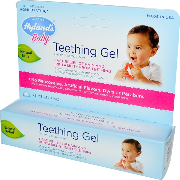 Hyland's, Baby, Teething Gel, 0.5 oz (14.7 ml) (Discontinued Item)