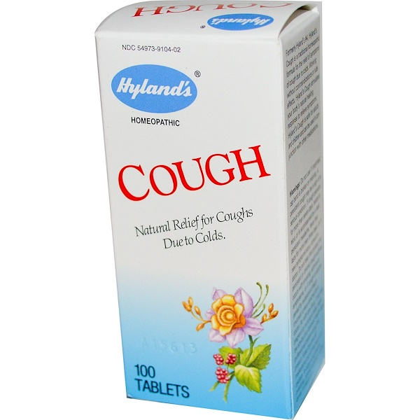 Hyland's, Cough, 100 Tablets (Discontinued Item)