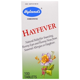 Hyland's, Hayfever, 100 Tablets