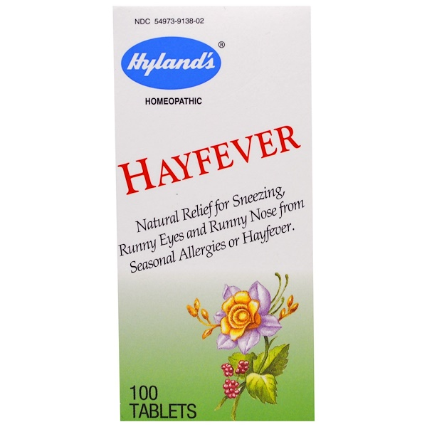 Hyland's, Hayfever, 100 Tablets (Discontinued Item)