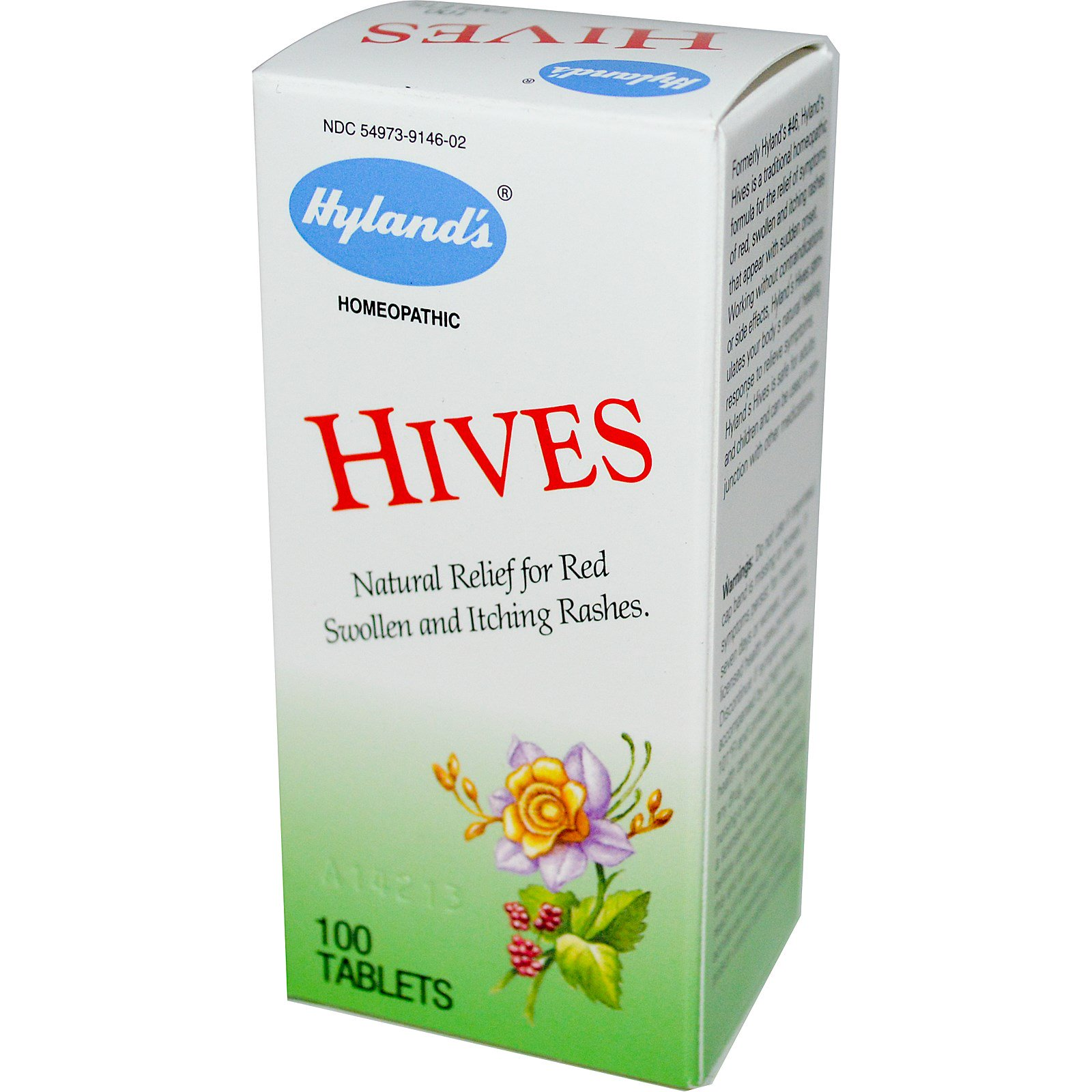 Hyland's, Hives, 100 Tablets - iHerb com