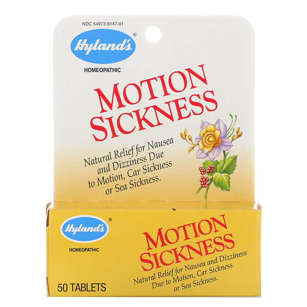 Motion Sickness, 50 Tabletas
