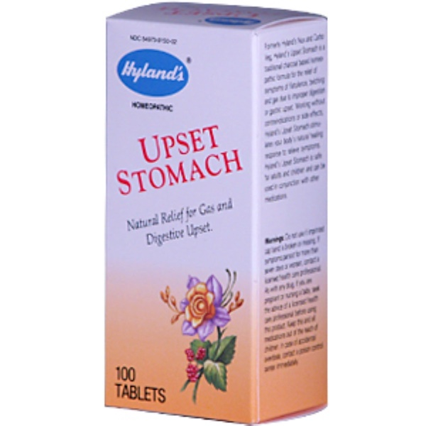 Hyland's, Upset Stomach, 100 Tablets (Discontinued Item)