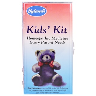 Hyland's, Homeopathic Kid's Kit, 7 Piece Kit
