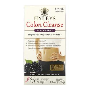 Hyleys Tea, Colon Cleanse, Blackberry , 25 Tea Bags, 1.32 oz (37.5 g)