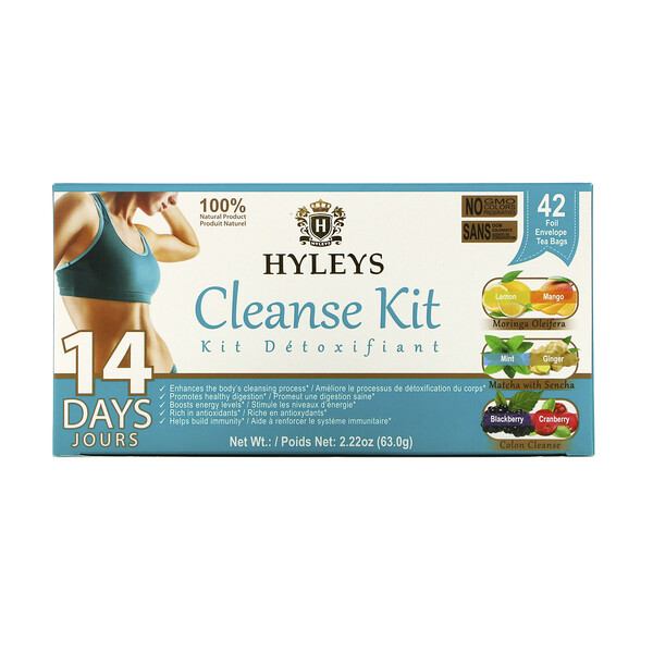 14 Days Cleanse Kit,  42 Tea Bags, 2.22 oz (63 g)