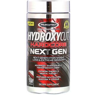 Hydroxycut, Hardcore Next Gen, Weight Loss, 100 Capsules