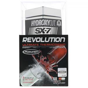 Хайдроксикат, SX-7 Revolution, Ultimate Thermogenic, 60 Capsules отзывы