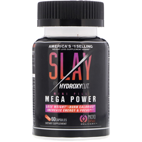 Hydroxycut, Slay by Hydroxycut, 60 Capsules (Discontinued Item)