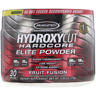 Hydroxycut, Performance Series, Hydroxycut Hardcore, Elite Powder, Fruit Fusion, 2.53 lbs (72 g)