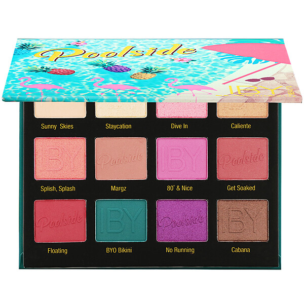 IBY Beauty, Eyeshadow Palette, Poolside, 0.636 oz (18 g)