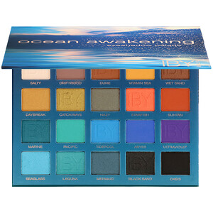 IBY Beauty, Eyeshadow Palette, Ocean Awakening, 0.7 oz (20 g) отзывы