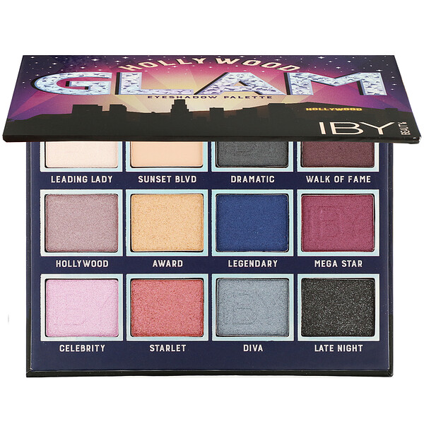 Eyeshadow Palette, Hollywood Glam, 0.42 oz (12 g)