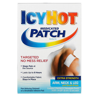 Icy Hot, Medicated Patch, Extra Strength, 5 Patches