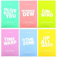 I Dew Care, Let's Get Beauty Sheet Faced, 14 Day Beauty Sheet Mask Set, 0.67 fl oz (20 ml) Each