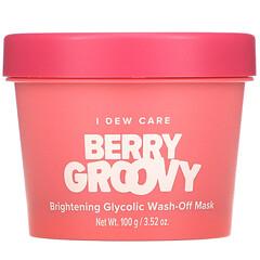I Dew Care, 莓果味,乙醇酸水洗型亮膚美容面膜,3.52 盎司(100 克)