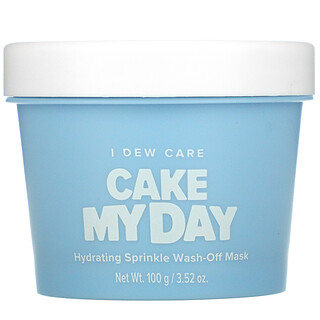 I Dew Care, Cake My Day, Hydrating Sprinkle Wash-Off Beauty Mask, 3.52 oz (100 g)
