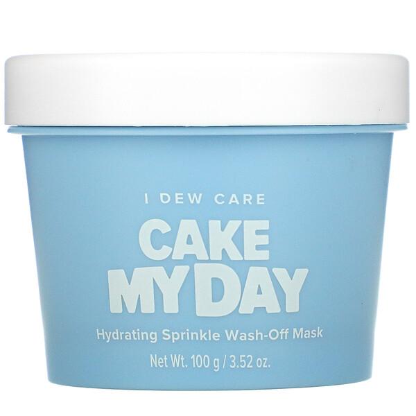 CakeMyDay, Mascarilla de belleza con chispas hidratantes y enjuague, 100g (3,52oz)