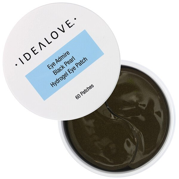 Idealove, Eye Admire Black Pearl Hydrogel Eye Patch, 60 Patches