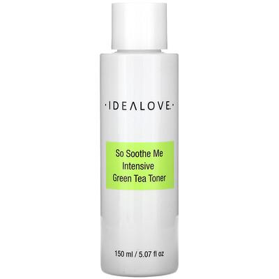 Idealove So Soothe Me, интенсивный тоник с зеленым чаем, 150 мл (5,07 жидк. унции)