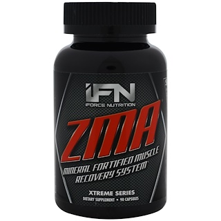 iForce Nutrition, ZMA, Xtreme Series, 90 Capsules