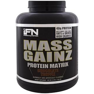 iForce Nutrition, Mass Gainz Protein Matrix, Chocolate Truffle, 4.85 lbs (2.2 kg)