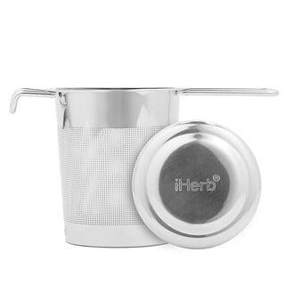 iHerb Goods, 不锈钢材质泡茶器,1 件