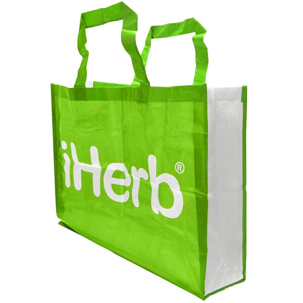 iHerb Goods, Grocery Tote Bag, Extra Large