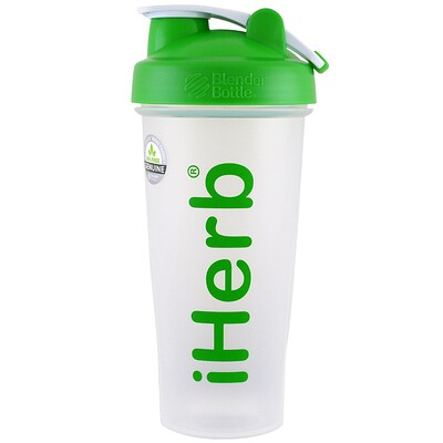 Купить Бутылка-шейкер с шариком для смешивания, зелёный цвет, 28 унций