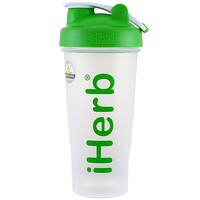 iHerb Goods, Blender Bottle com Blender Ball, Verde, 28 oz