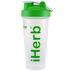 iHerb Goods, Blender Bottle mit Blender Ball, Grün, 28 oz